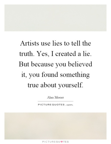 artists use lies